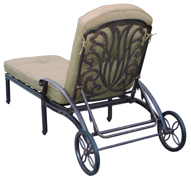 Darlee Elisabeth Patio Chaise Lounge.
