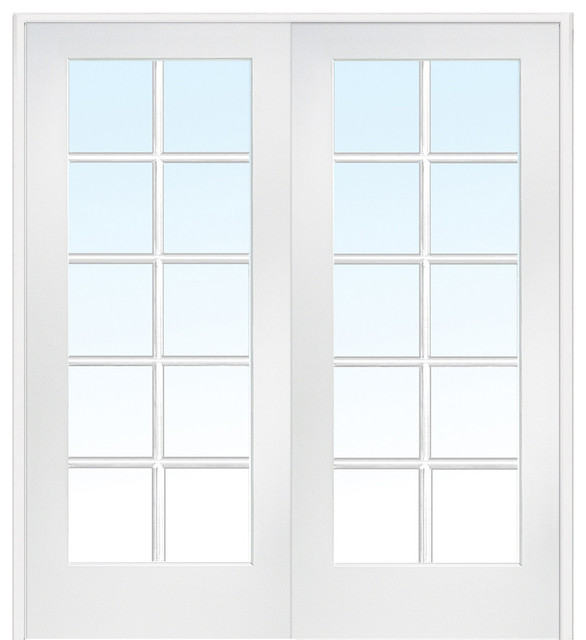 French Interior Door 10 Lite True Divided 62 X81 75 Both Active In