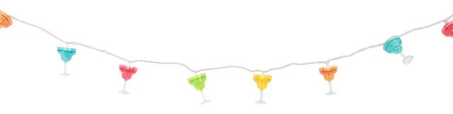 Margarita Glass String Lights.