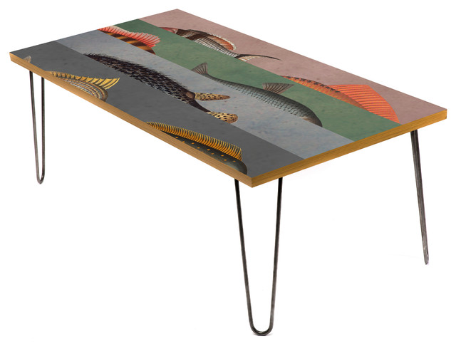 Fins And Tails 24 Coffee Table Beach Style Coffee Tables By Lamou