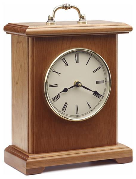 jefferson mantel clock silent quartz movement clocks - Mantel Clock