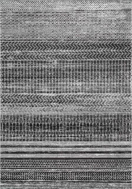Timmons Area Rug, Dark Gray, 8&x27;x10&x27;.