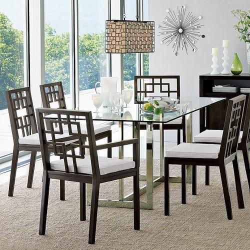Cb Silverado Dining Table Loris Decoration - Cb2 glass top dining table
