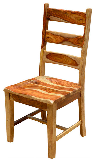 Dallas Ladder Back Dining Chair Solid Wood