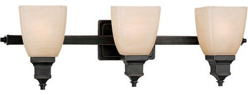 Forte Lighting 5057-03 3 Light Bathroom Fixture
