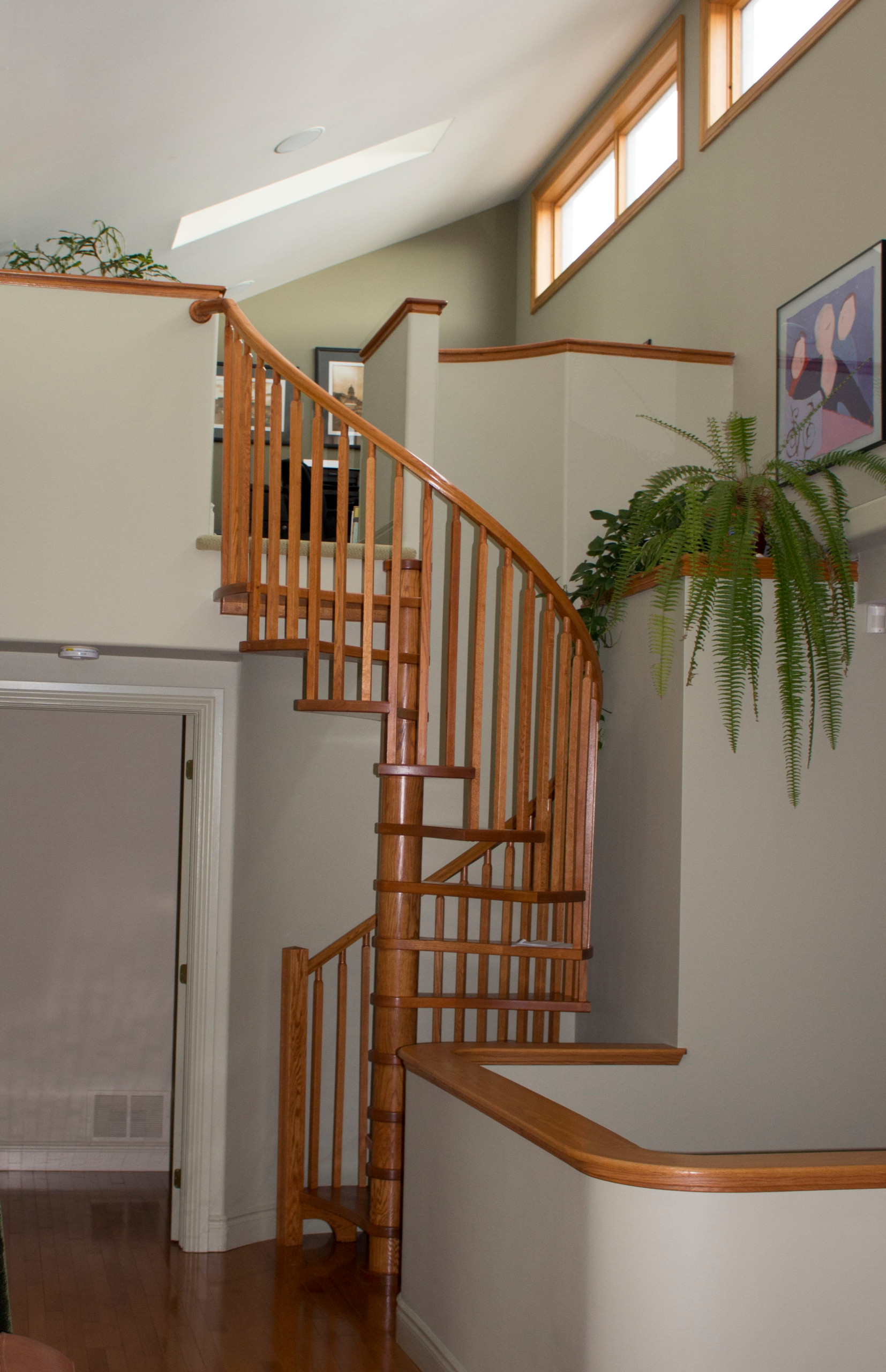 trailhead, kingston loft staircase