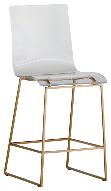 Shop Houzz Gabby Gabby King Acrylic Counter Stool Bar