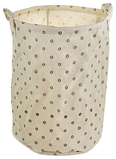 Rural Style Large Laundry Basket, Clothes Hamper Storage, A.