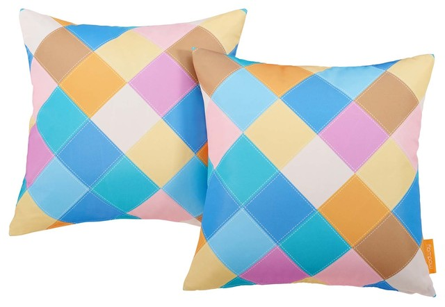 Proov Two Piece Outdoor Patio Pillow Set WL-02719-MW