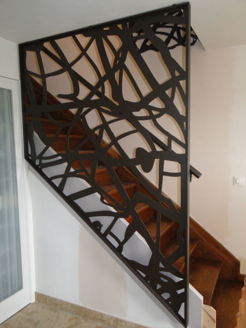 Favori Garde-corps escalier design - Contemporain - Grenoble - par Racken  EH13