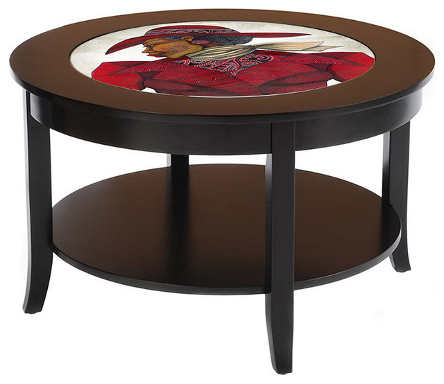 Designbycab Ebony In Red Coffee Table Coffee Tables Houzz