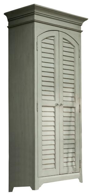 Paula Deen Home Utility Cabinet Linen Beach Style
