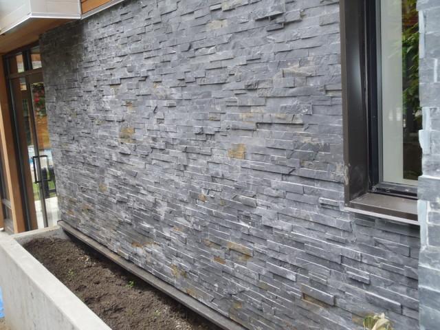 Geometric House   Slate Wall Contemporary