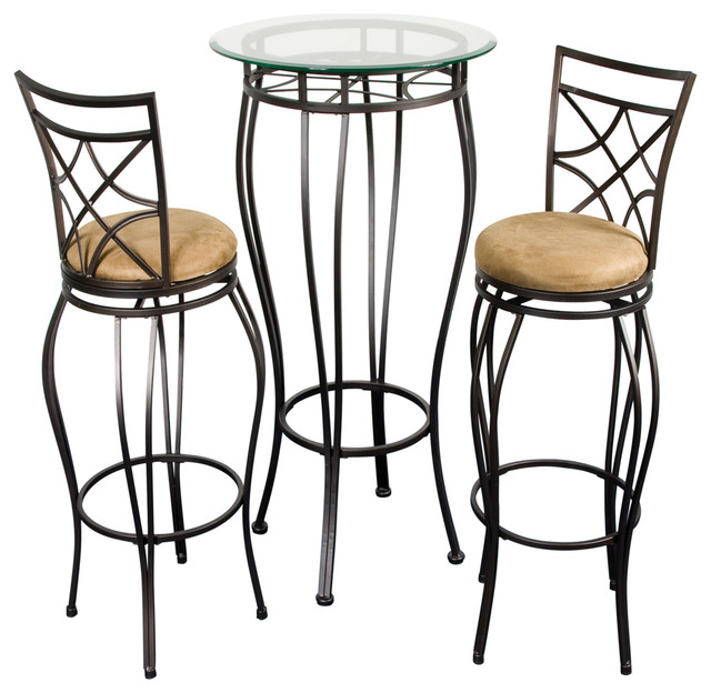 Shop Houzz Home Source Industries Pub Table And 2 Stools
