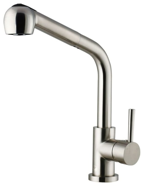 Vigo Vg02019 Avondale Pull-Out Spray Kitchen Faucet, Stainless Steel.