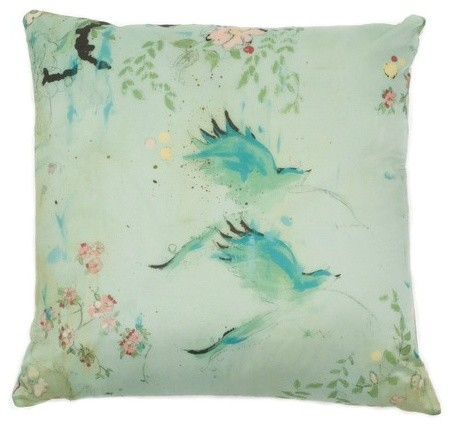 Kathe Fraga Decorative Pillow - Chez Nous - Contemporary - Decorative Pillows - by Artisan Crafted