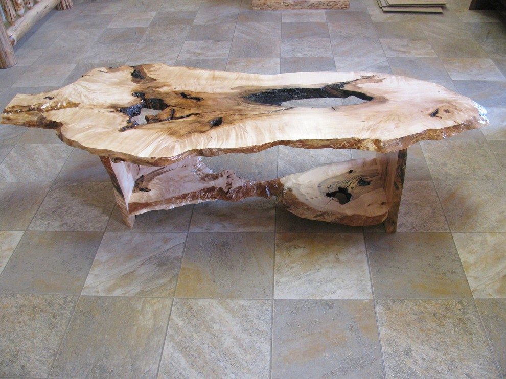Maple Slab Coffee Table (1)