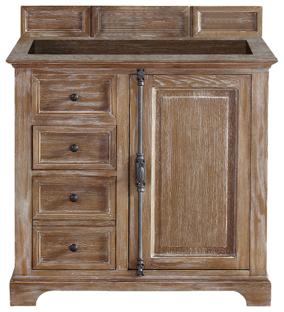 single vanity cabinet with sink. Providence 36  Single Vanity Cabinet Driftwood No Top farmhouse bathroom vanities Farmhouse