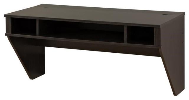 Prepac Designer Floating Desk Transitional Desks And