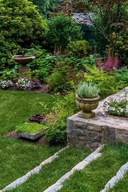 Casual Elegance In Westchester County Ny Traditional Landscape New York By Westover Landscape Design