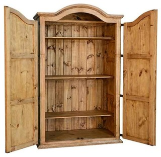 Ordinaire Rustic Wardrobe Armoire   Rustic   Armoires And Wardrobes   By San Carlos  Imports Llc