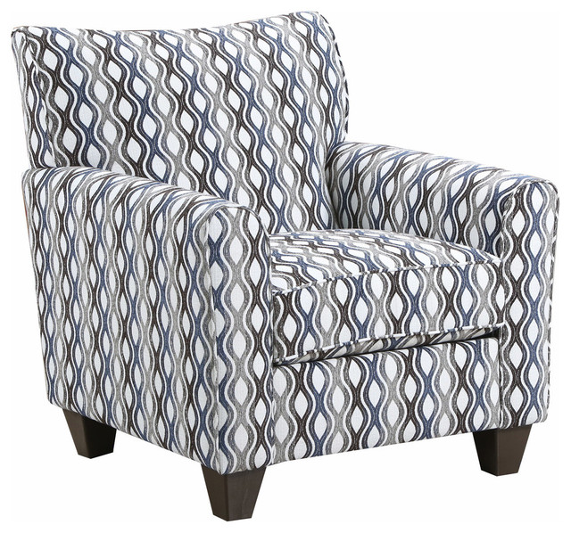 Sensational Simmons Upholstery Rialto Denim Accent Chair Gmtry Best Dining Table And Chair Ideas Images Gmtryco