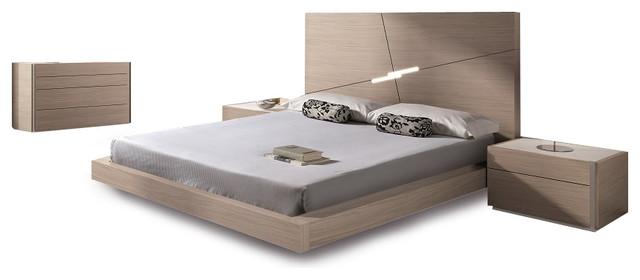 Evora Premium Modern Bedroom Set Contemporary Bedroom Furniture Sets By Bedtimenyc