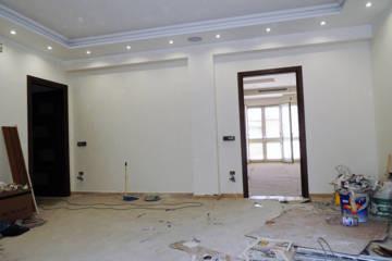 Come dipingere pilastri e travi nel salotto?