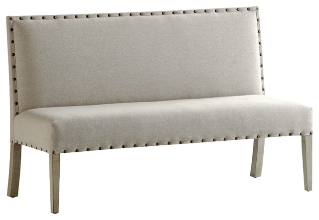 French Heritage Benches, Cartier Dining Settee.
