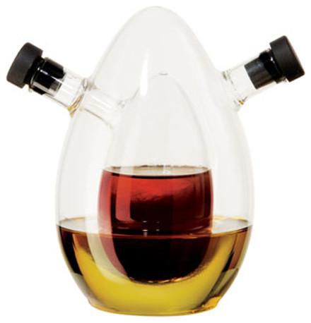 Oggi Oval Oil And Vinegar Cruet.