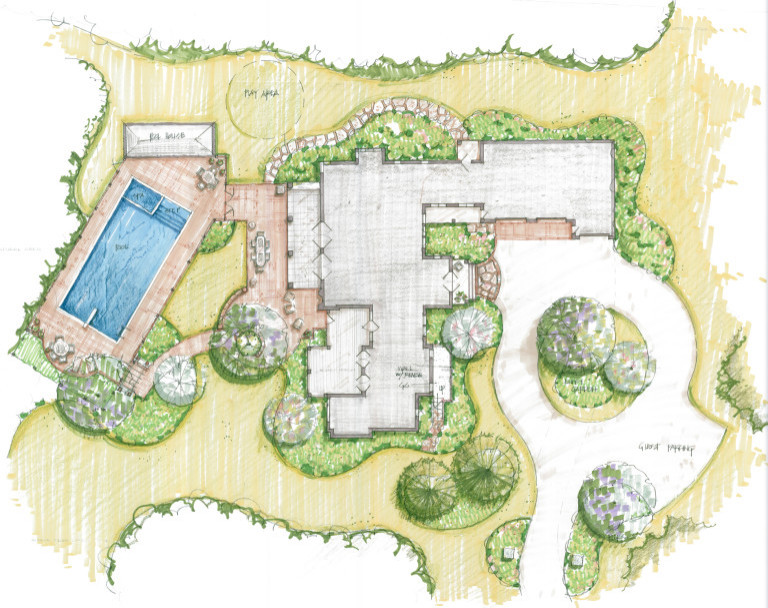 Landscape Plan by Peter Atkins and Associates