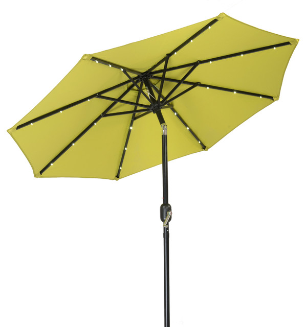 Led Umbrella Amazon: Trademark Innovations 7' Solar LED Patio