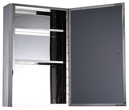 Surface Mount Swing Door Medicine Cabinet.