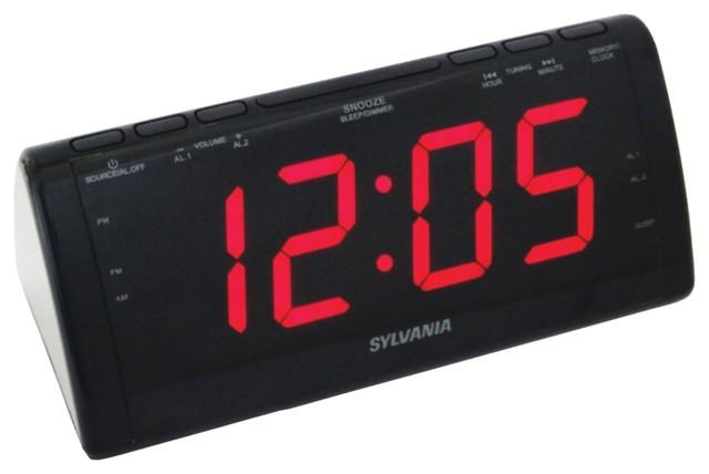 sylvania alarm clock scr1388 manual