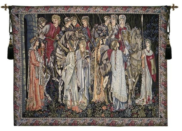 Lords And Ladies Tapestry Wall Hanging.