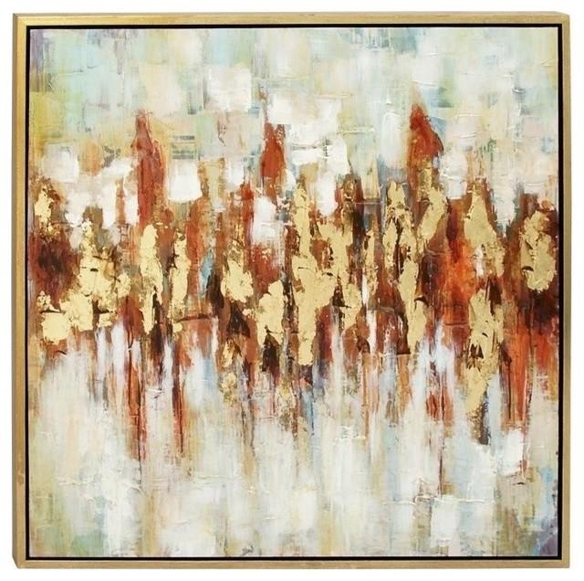 Framed Canvas Art.