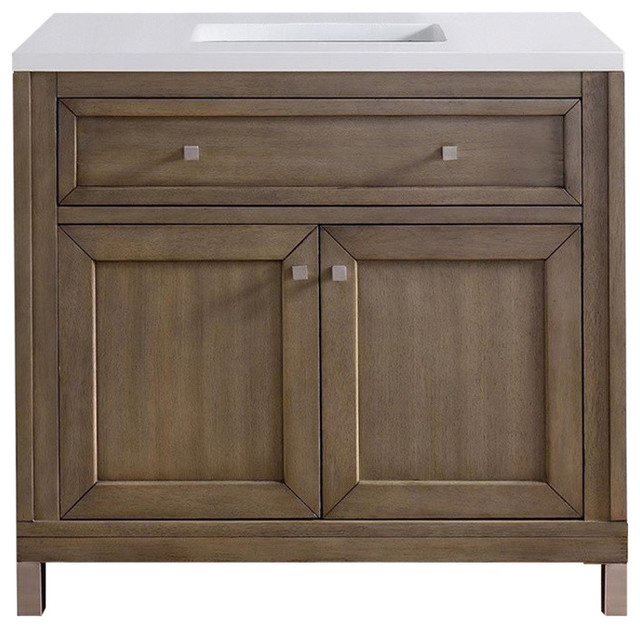 Ideal Transitional Bathroom Vanities And Sink Consoles by James Martin Furniture