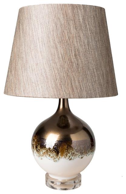 "Breakers Table Lamp, 12""x19""x12""."