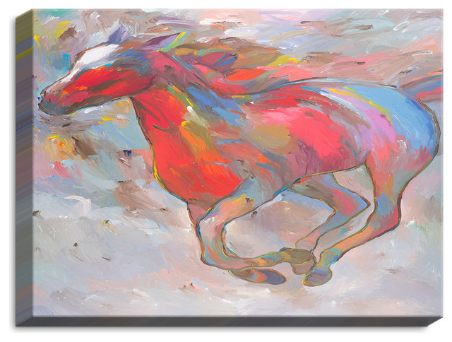 Dianoche Canvas Wall Art By Hooshang Khorasani Smooth Runner I.