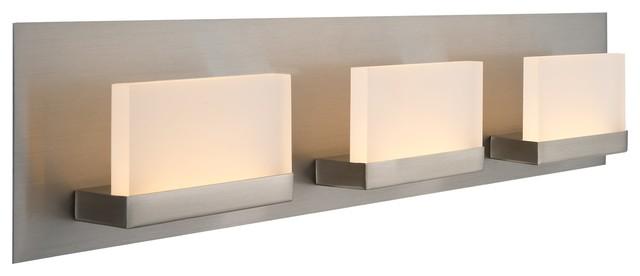 Kira Home Everett 24 19w Integrated Led Bathroom Light Rectangular Acrylic