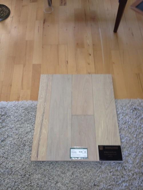 anyone using oiled wood floors (not polyurethane)?