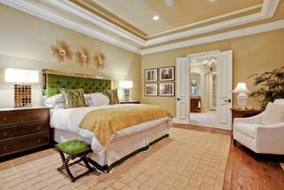 Narrow French Doors Into Master Bedroom