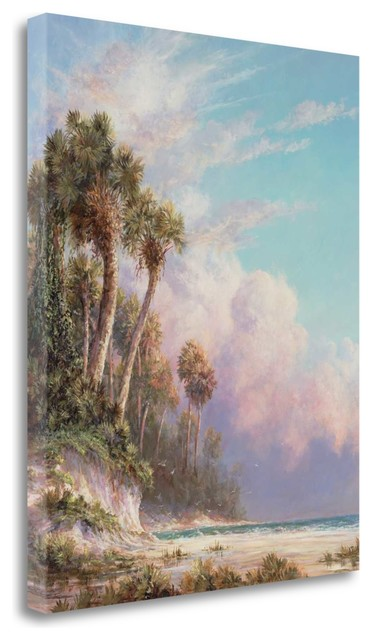 """casperson Bluff"" By Art Fronckowiak, Giclee Print On Gallery Wrap Canvas."