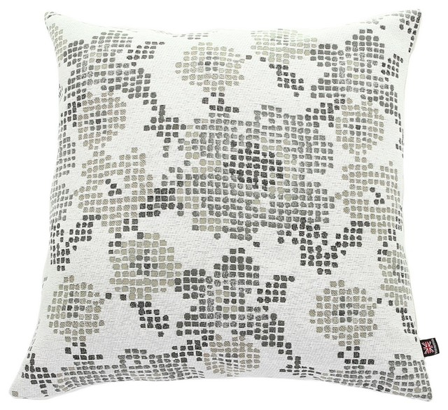 Floral Geometric Scatter Cushion, 45x45 Cm