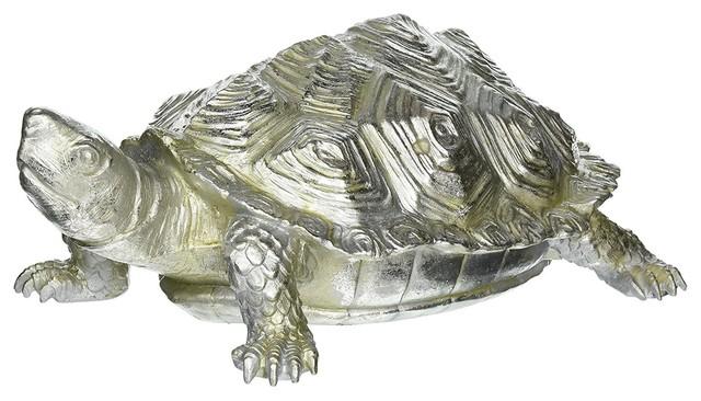 Howard Elliott Turtle Figurine Textured Pewter - Beach Style - Metal ...