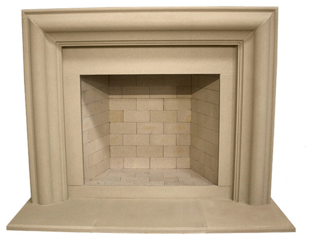 Soho Cast Stone Fireplace Mantel Traditional Mantels By Devinci
