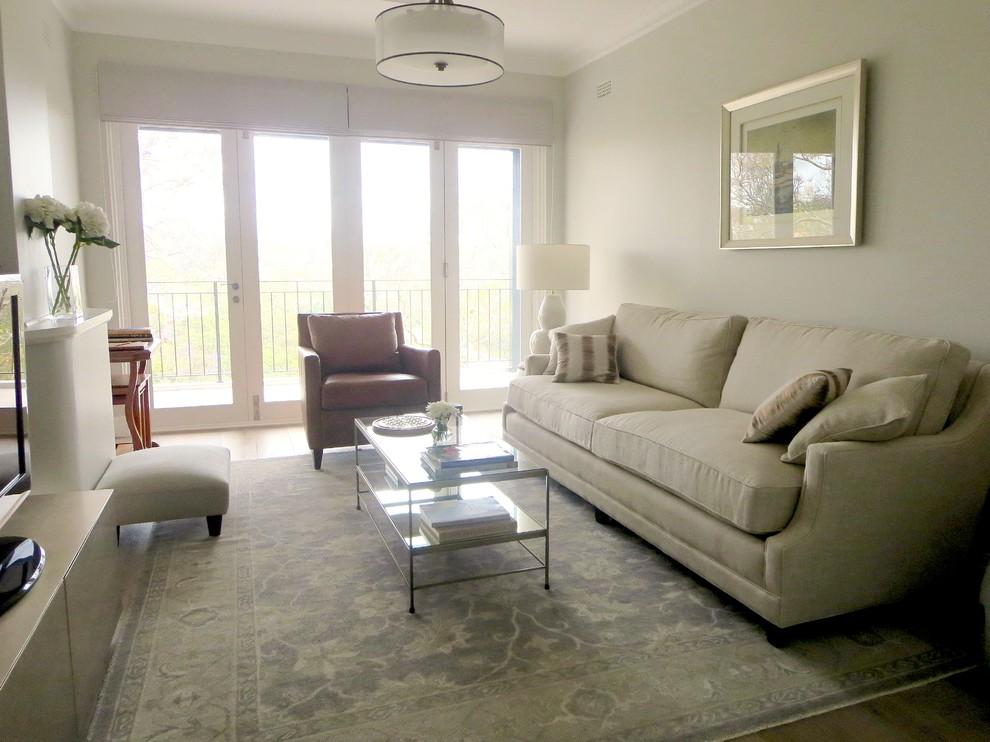 Upper Living Room - Residence North Shore, Sydney