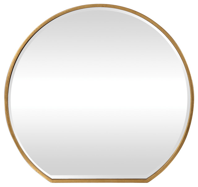Uttermost Cabell Gold Mirror.