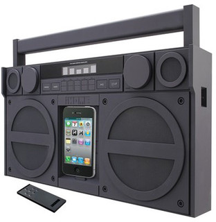 Boombox iHome iPod/iPhone Docking System  home electronics