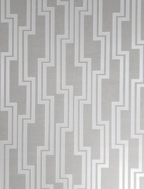 diamond square Geometric lines modern wallpaper white gold metallic Textured 3D